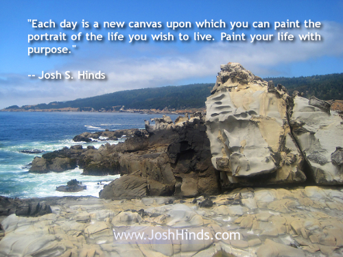 A Quote By Josh Hinds On Living With Purpose Josh Hinds